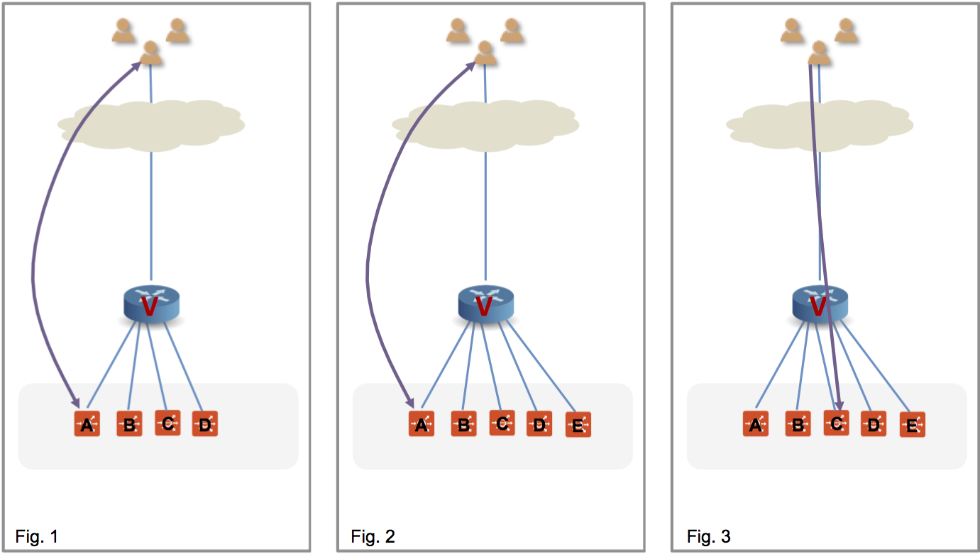 BGP Support for Scaling Virtual Services